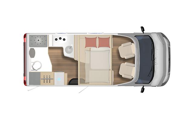 Lyseo TD590 | 2 Berth 2021 Motorhome For Sale NZ | SmartRV - Interior #1